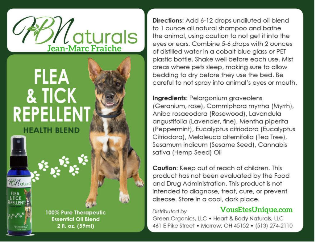 Flea-Tick-Repellent-Animaux-de-compagnie-Hemp-Herbals-HB-Naturals-Jean-Marc-Fraiche-VousEtesUnique