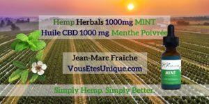 Hemp-Herbals-1000-mg-MINT-HB-Naturals-Hemp-Herbals-Jean-Marc-Fraiche-VousEtesUnique