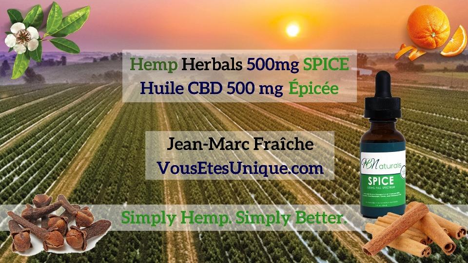 Hemp-Herbals-500-mg-SPICE-HB-Naturals-Hemp-Herbals-Jean-Marc-Fraiche-VousEtesUnique