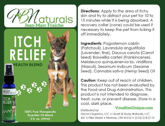 Itch-Relief-Animaux-de-compagnie-Hemp-Herbals-HB-Naturals-Jean-Marc-Fraiche-VousEtesUnique