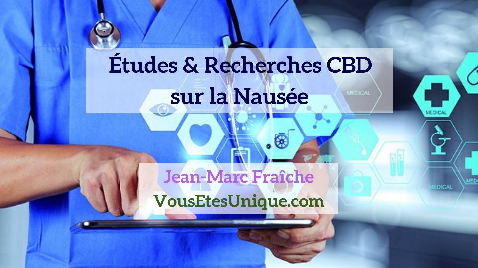 Recherches-Etudes-CBD-et-la-Nausee-Jean-Marc-Fraiche-Hemp-Herbals-HB-Naturals